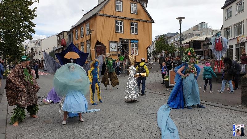 Spectacle de rue, Reykjavík.
