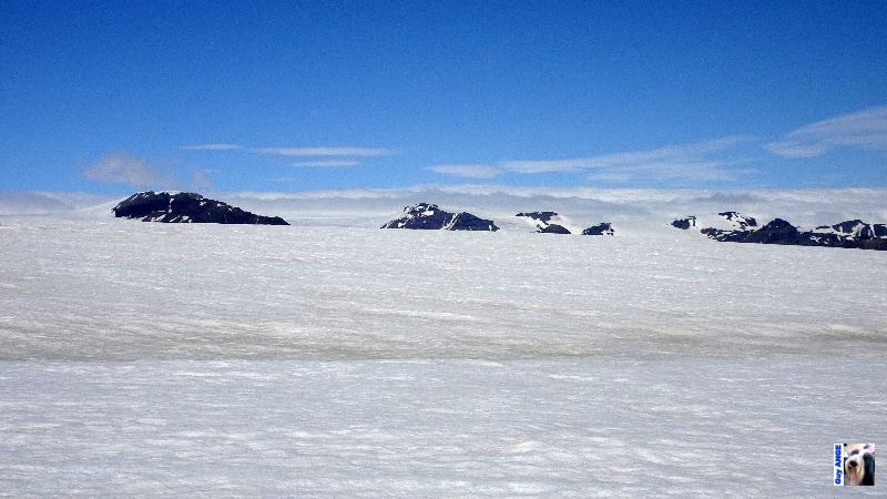 En bordure du Vatnajökull.