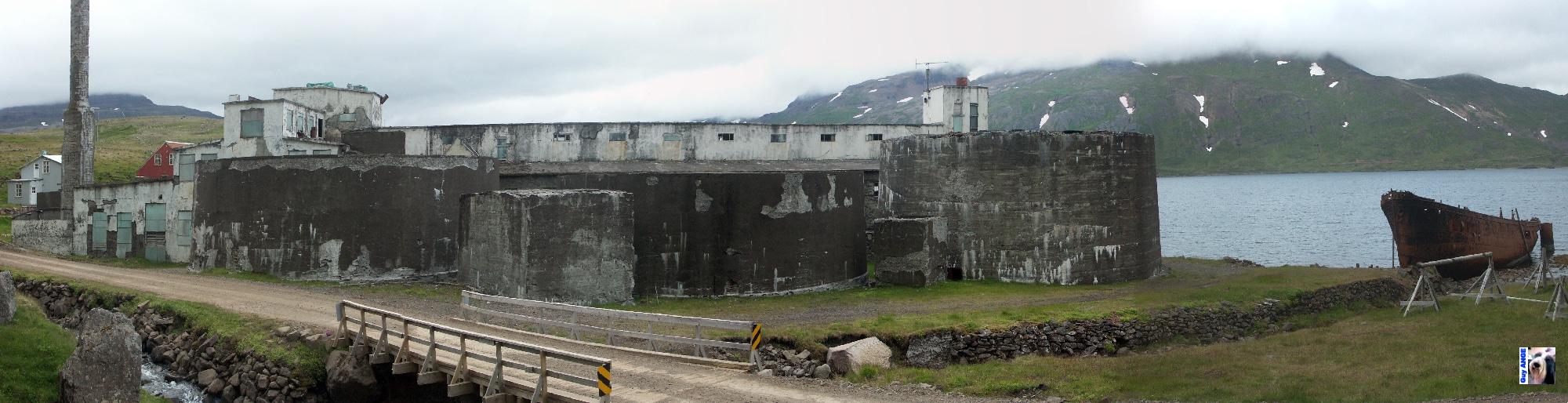 Djúpavík, Islande, les fjords du nord-ouest.