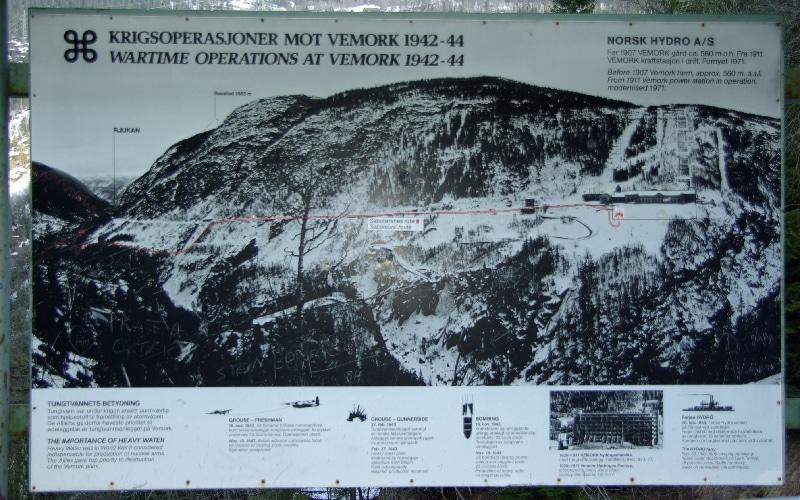 Centrale hydroélectrique de Vemork