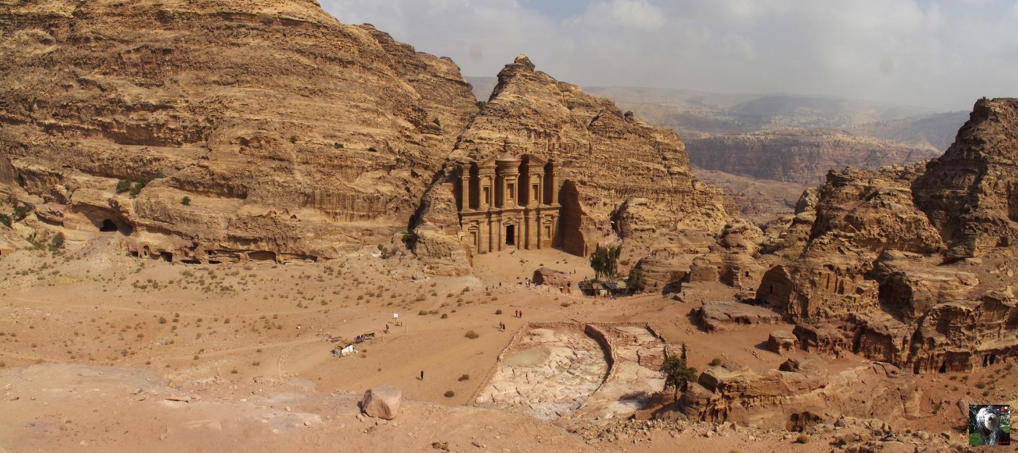 Le Monastère à Pétra, Jordanie.