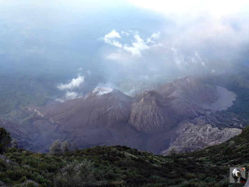 Guatemala, le Santiaguito.