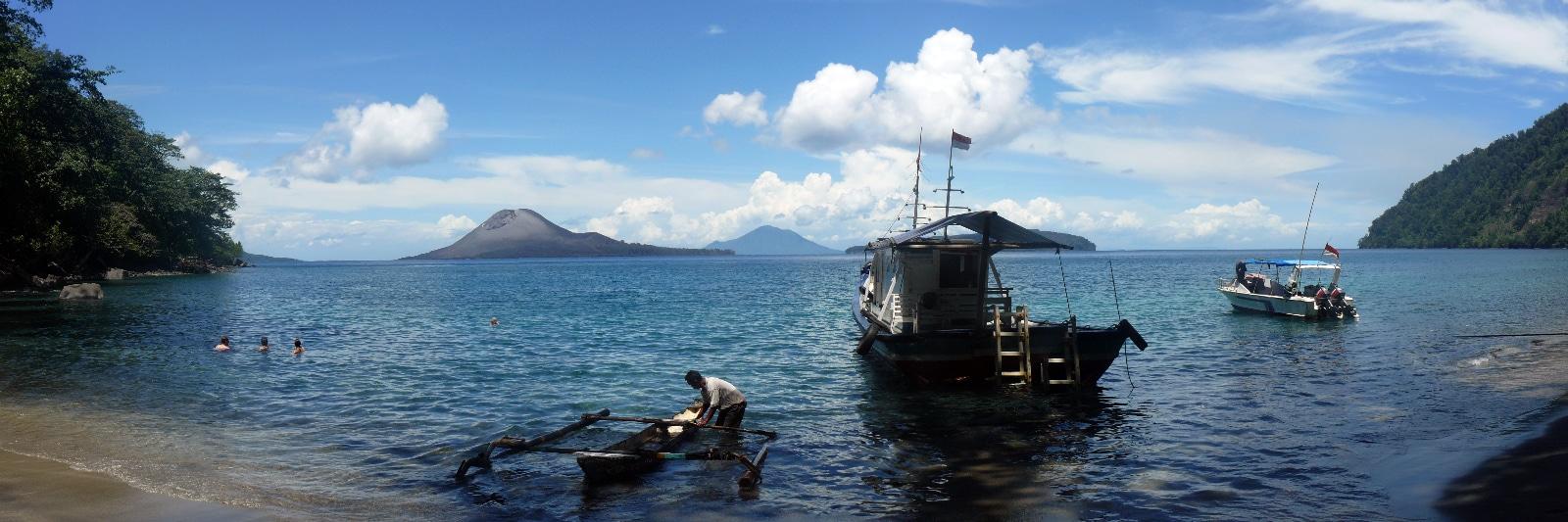 Indonésie, Krakatau.