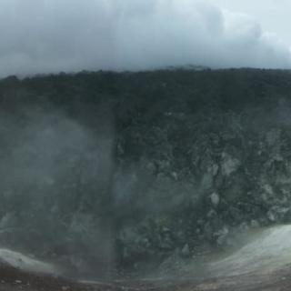 Dôme de lave.